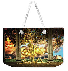 Weekender Tote Bag featuring the photograph Daybreak Redux by Mark Fuller
