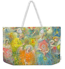 Daydream After The Music Of Max Reger Weekender Tote Bag by Annael Anelia Pavlova