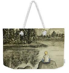 Daydream Lake Weekender Tote Bag