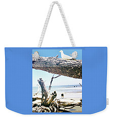 Daydreams And Driftwood Weekender Tote Bag