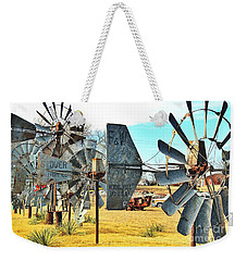 Daylight In The Garden Of Rust And Metal Weekender Tote Bag