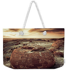 Daylight Leaving Redrock Weekender Tote Bag