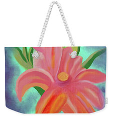 Daylily At Dusk Weekender Tote Bag by Margaret Harmon