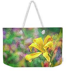 Daylily Fresco Weekender Tote Bag