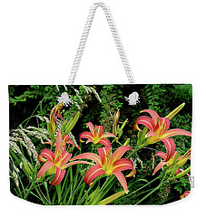 Daylily Grouping Weekender Tote Bag