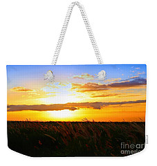 Weekender Tote Bag featuring the photograph Day's End by DJ Florek