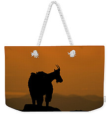 Weekender Tote Bag featuring the photograph Day's End by Gary Lengyel