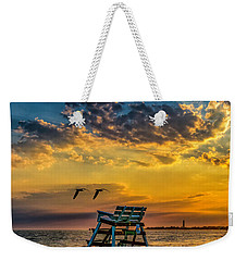 Days End In Cape May Nj Weekender Tote Bag