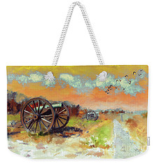 Weekender Tote Bag featuring the photograph Days Of Discontent by Lois Bryan