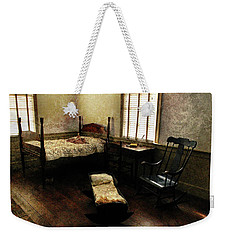 Weekender Tote Bag featuring the photograph Days Of Old by Jessica Brawley