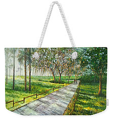Dayspring Retreat Weekender Tote Bag by Lou Ann Bagnall