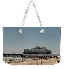 Daytona Beach Pier Pano Weekender Tote Bag