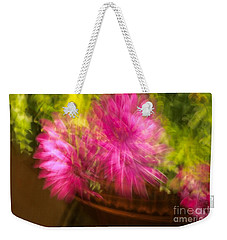 Dazed Weekender Tote Bag by Cathy Dee Janes