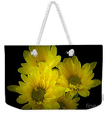 Dazzling Yellow Weekender Tote Bag by Ray Shrewsberry