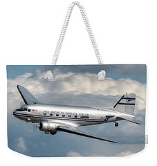 Weekender Tote Bag featuring the photograph Dc-3 by Jeff Cook