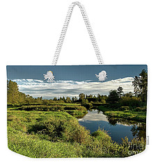 De Boville Slough At Pitt River Dike Weekender Tote Bag