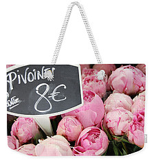 De Couleur Rose Weekender Tote Bag
