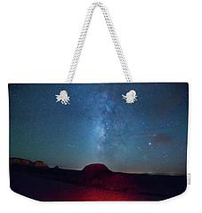 De Na Zin Milky Way Weekender Tote Bag