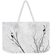 Dead Creek Cranes Weekender Tote Bag