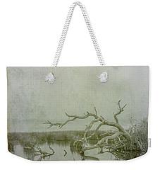 Weekender Tote Bag featuring the digital art Dead In The Water by Randy Steele