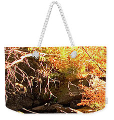 2 Of 6 Dead River Falls  Marquette Michigan Section Weekender Tote Bag