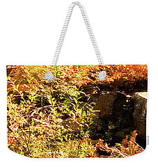 3 Of 6 Dead River Falls  Marquette Michigan Section Weekender Tote Bag