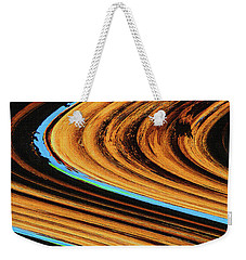 Weekender Tote Bag featuring the photograph Dead Saguaro Abstract  by Tom Janca