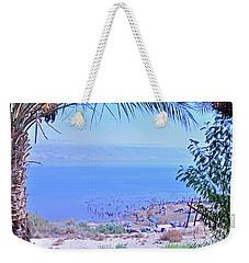 Dead Sea Overlook 2 Weekender Tote Bag