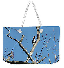 Dead Tree - Wildlife Weekender Tote Bag by Donald C Morgan