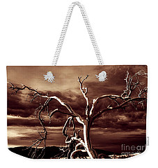 Weekender Tote Bag featuring the photograph Dead Tree In Death Valley 11 by Micah May