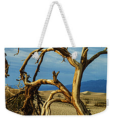 Weekender Tote Bag featuring the photograph Dead Tree In Death Valley 12 by Micah May