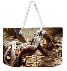 Weekender Tote Bag featuring the photograph Dead Tree In Death Valley 16 by Micah May
