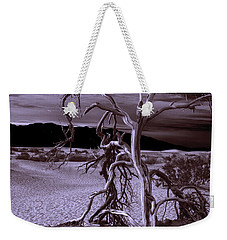 Weekender Tote Bag featuring the photograph Dead Tree In Death Valley 6 by Micah May