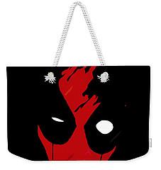Deadpool Weekender Tote Bag by Kyle J West