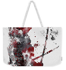 Deadpool Weekender Tote Bag by Rebecca Jenkins