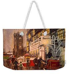 Deansgate With Tram Weekender Tote Bag