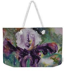 Dear Iris Weekender Tote Bag