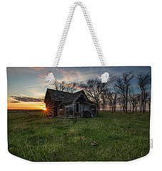 Dearly Departed Weekender Tote Bag by Aaron J Groen