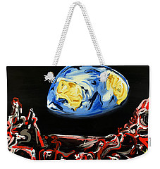 Death By Starlight Weekender Tote Bag