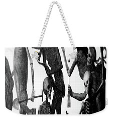 Death Comes To Us All Weekender Tote Bag