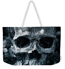 Weekender Tote Bag featuring the photograph Death Comes To Us All by Edward Fielding