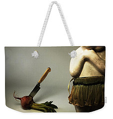 Death Of A Vegetable Weekender Tote Bag