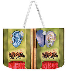 Death Of The Canadian Bee Weekender Tote Bag
