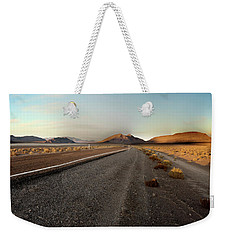 Death Valley Hitch Hiker Weekender Tote Bag by Gary Warnimont