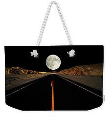 Death Valley Moon Rise Weekender Tote Bag