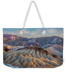 Death Valley Palette  Weekender Tote Bag