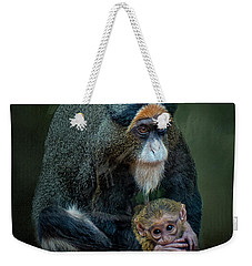 Debrazza's Monkey And Baby Weekender Tote Bag