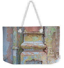 Weekender Tote Bag featuring the photograph Decay by Jean luc Comperat