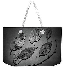 Decaying Leaves Weekender Tote Bag by Tom Mc Nemar