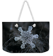 December 18 2015 - Snowflake 1 Weekender Tote Bag by Alexey Kljatov